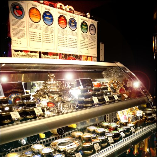 OLMA Caviar Boutique & Bar - Caviar Selection